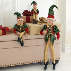 """38""""H Posable Christmas Elf,"""