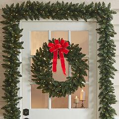 Pre-Lit Arrow Tip Wreath,
