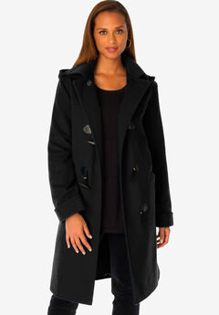 Hooded Toggle Coat,