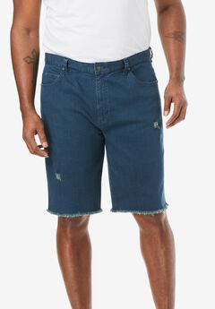 Liberty Blues® Cut-Off Denim Shorts,