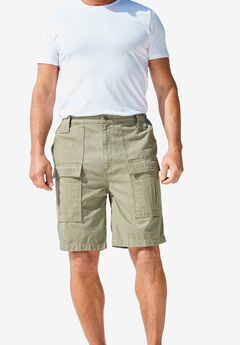 "Deeper Pocket 8"" Cargo Shorts,"