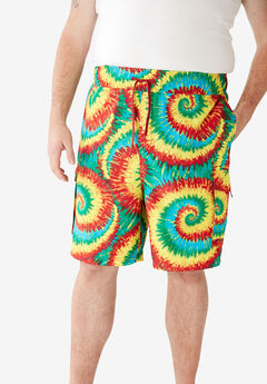 KS Island™ Printed Cargo Swim Shorts,