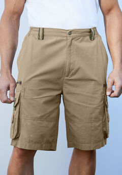 Boulder Creek® Ripstop Cargo Shorts,