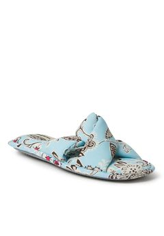 Angela Paisley Twist Slide by Dearfoams,