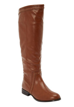 The Malina Wide Calf Boot ,
