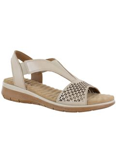 Marley Slingback Sandal by Comfort Wave by Easy Street,
