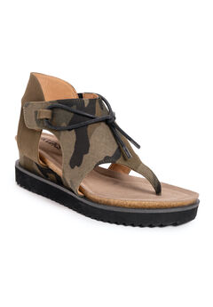 Pitch Solo Wedge Sandals,