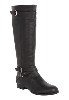 The Janis Leather Boot ,