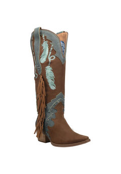 Dream Catcher Wide Calf Boots,