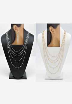 Waterfall Necklace Set,