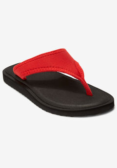 The Sylvia Soft Footbed Sandal by Comfortview®,