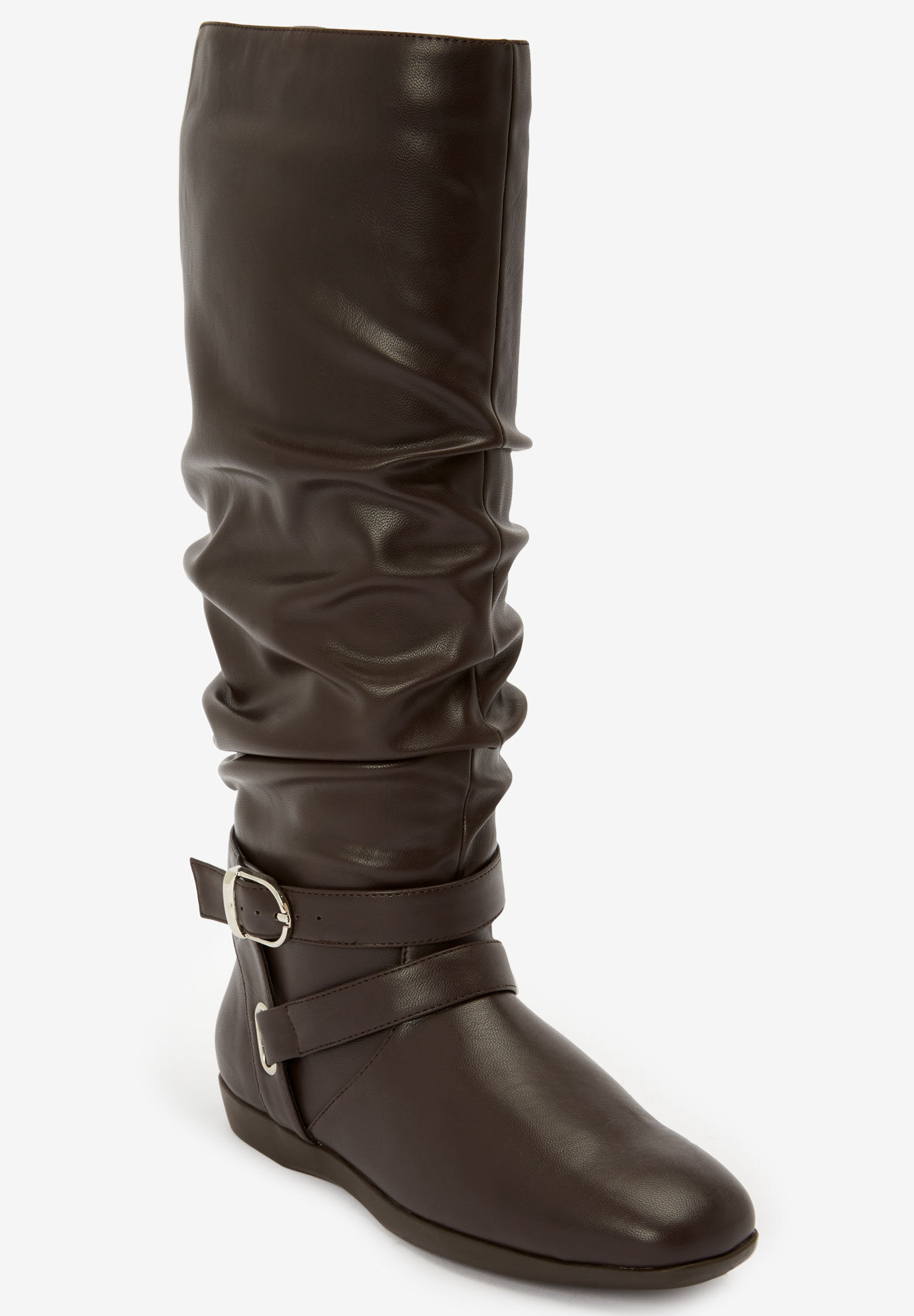 The Arya Wide Calf Boot by Comfortview