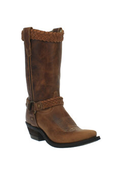 Plait Wide Calf Boots,