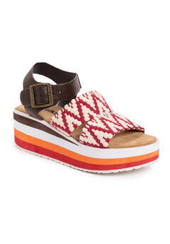 Groove Music Platform Sandals,