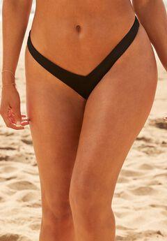 Camille Kostek 90s Baby Thong Bikini Bottom, MIDNIGHT
