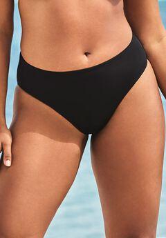 Fearless High Waist Bikini Bottom, BLACK