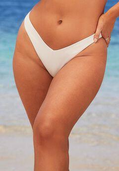 Camille Kostek The Camille Bikini Bottom, PEARL