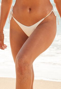 Camille Kostek Classic String Bikini Bottom, PEARL