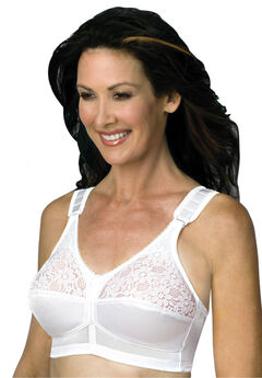 Back Hook Mastectomy Comfort Plus Bra by Jodee ,
