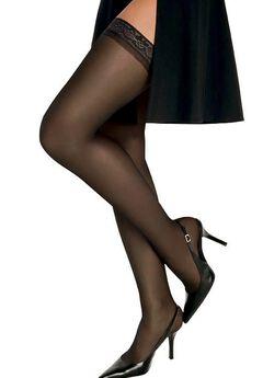 Hanes Silk Reflections Silky Sheer Thigh High,