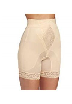 "Rago ""No Top Roll"" Shapette High Waist Long Leg Shaper,"