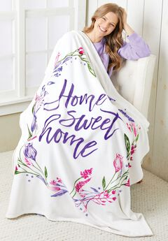Home Sweet Home Blanket,
