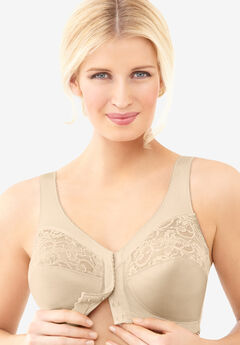 Glamorise® Magic Lift® Front-Close Support Wireless Bra 1200,