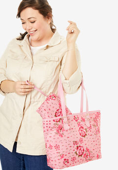 3-Piece Floral Bag Set,