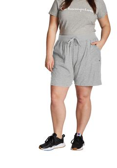 Women's Plus Jersey Shorts ,