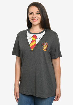 Women's Harry Potter T-Shirt Costume Tee Hogwarts Gryffindor,