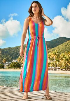 Long Maxi-Length Cover Up,
