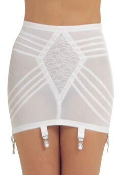 Rago Shapette Open Bottom Girdle w/ Garters,