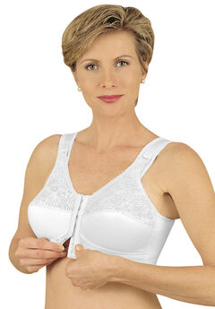Front Hook Mastectomy Comfort Plus Bra by Jodee ,