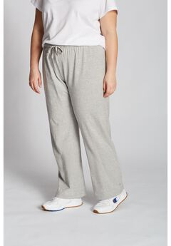 Women's Plus Jersey Pants ,