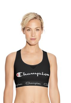 The Authentic Sports Bra, Script Logo by Champion®,