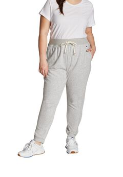 Women's Plus French Terry Joggers ,