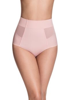 Sheer Allure Mid Waist Brief,