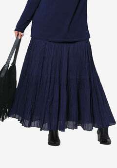 Tiered Crinkle Skirt by ellos®,