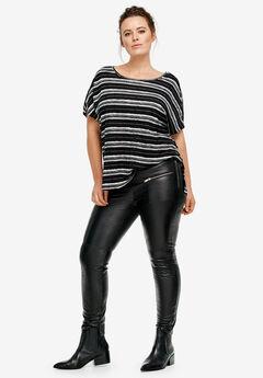 Skinny Leather Pants by ellos®,