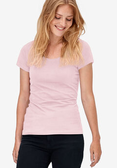 Scoop Neck Tee by ellos®,