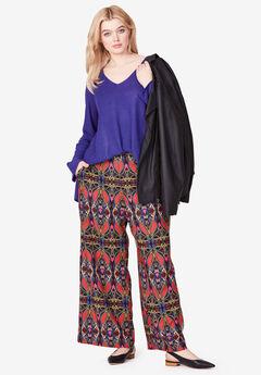 ff0a863e62d Wide-Leg Soft Pants by ellos®