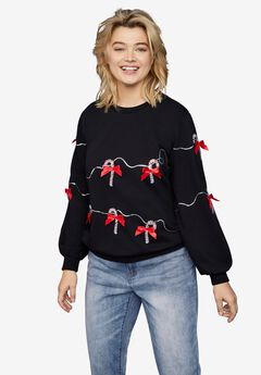 Candy Cane Sweatshirt,