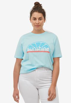 Sunshine Graphic Tee by ellos®,