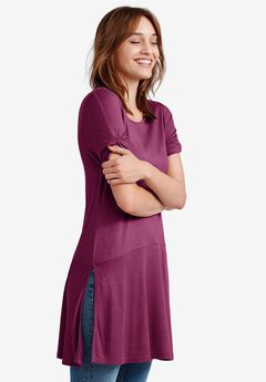Knot-Sleeve Tunic by ellos®,