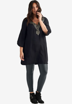 Embellished Cherry Tunic by ellos®,