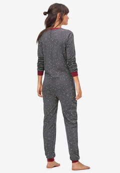 ... Henley One-piece Pajamas by ellos® 1e80b8086