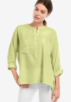 Popover Henley Tunic by ellos®,