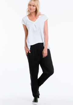 Woven Soft Pants by ellos®, BLACK