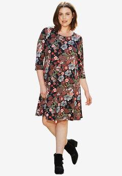 Madison 3/4 Sleeve Dress,