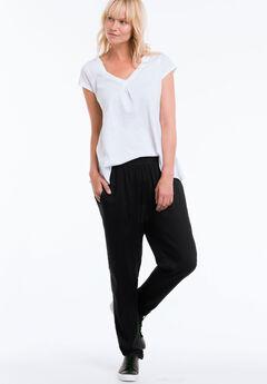 Woven Soft Pants by ellos®, BLACK